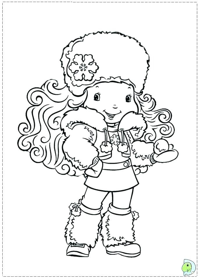 691x960 Strawberry Shortcake And Friends Coloring Pages Friendship