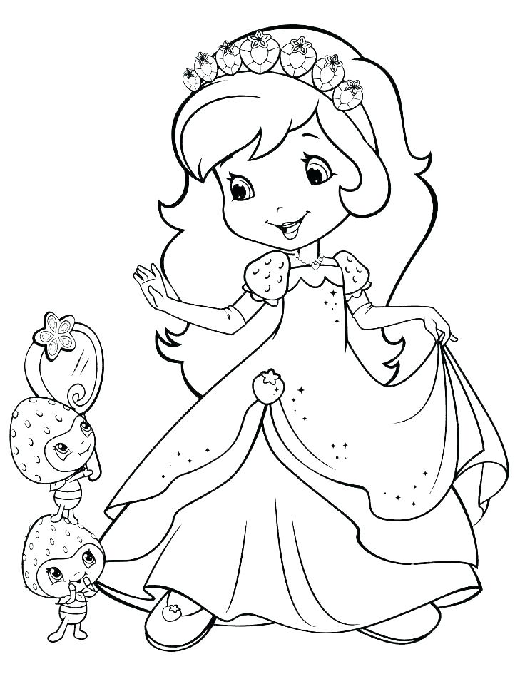 736x952 Coloring Pages Strawberry Shortcake And Friends
