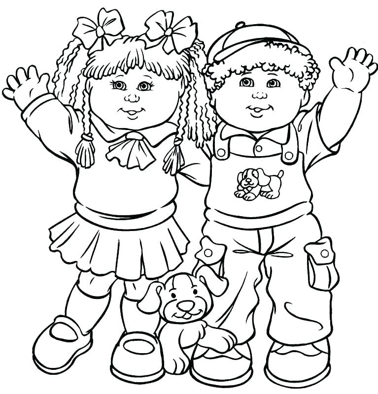 767x800 Friendship Coloring Pages Elegant Friendship Coloring Pages Kids