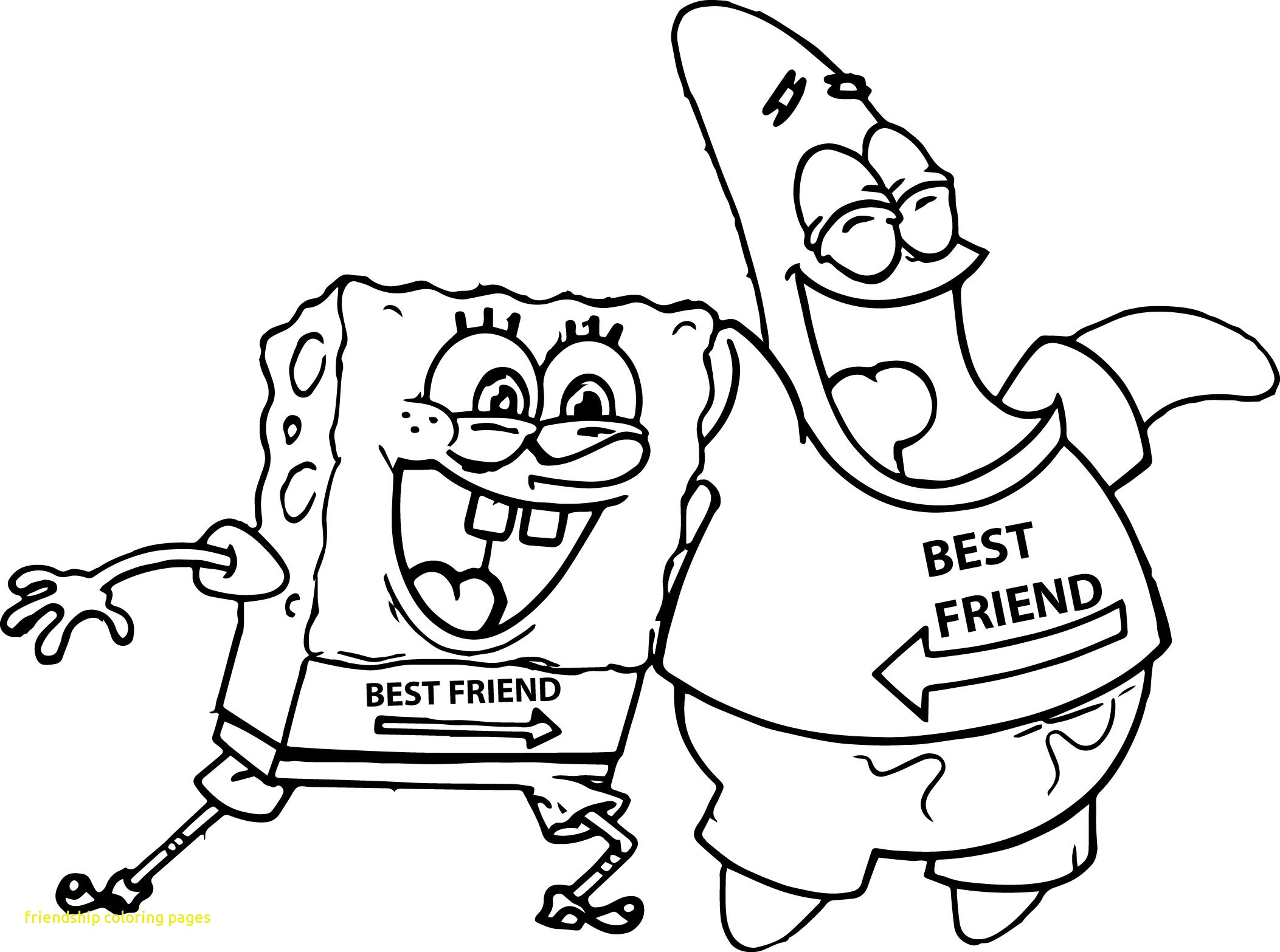 2105x1567 Friendship Coloring Pages With Friendship Coloring Page