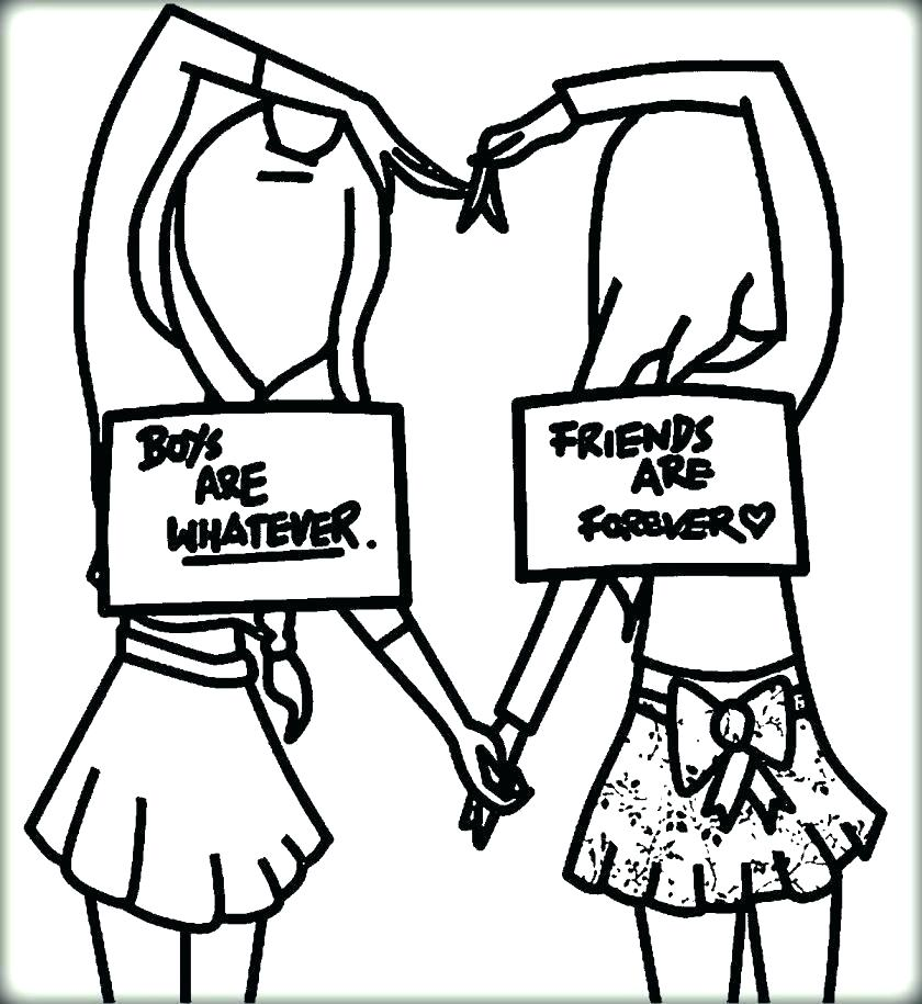 840x915 Best Friend Heart Coloring Pages Friend Coloring Pages Friend