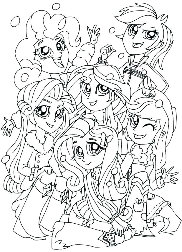 Friendship Games Coloring Pages