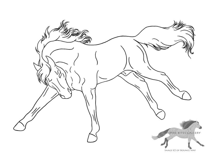 900x654 Drawn Horse Bucking Many Interesting Cliparts