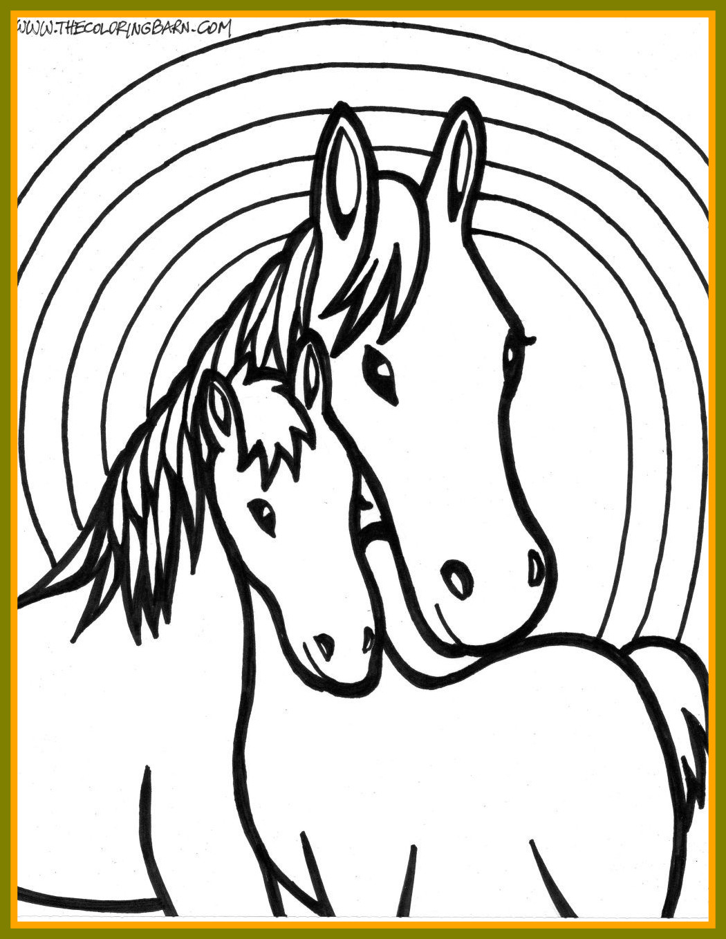 1050x1358 Stunning Horse Coloring Page Vitlt Of In Concept And Trend Horse