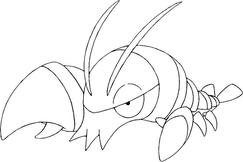 Froakie Coloring Page