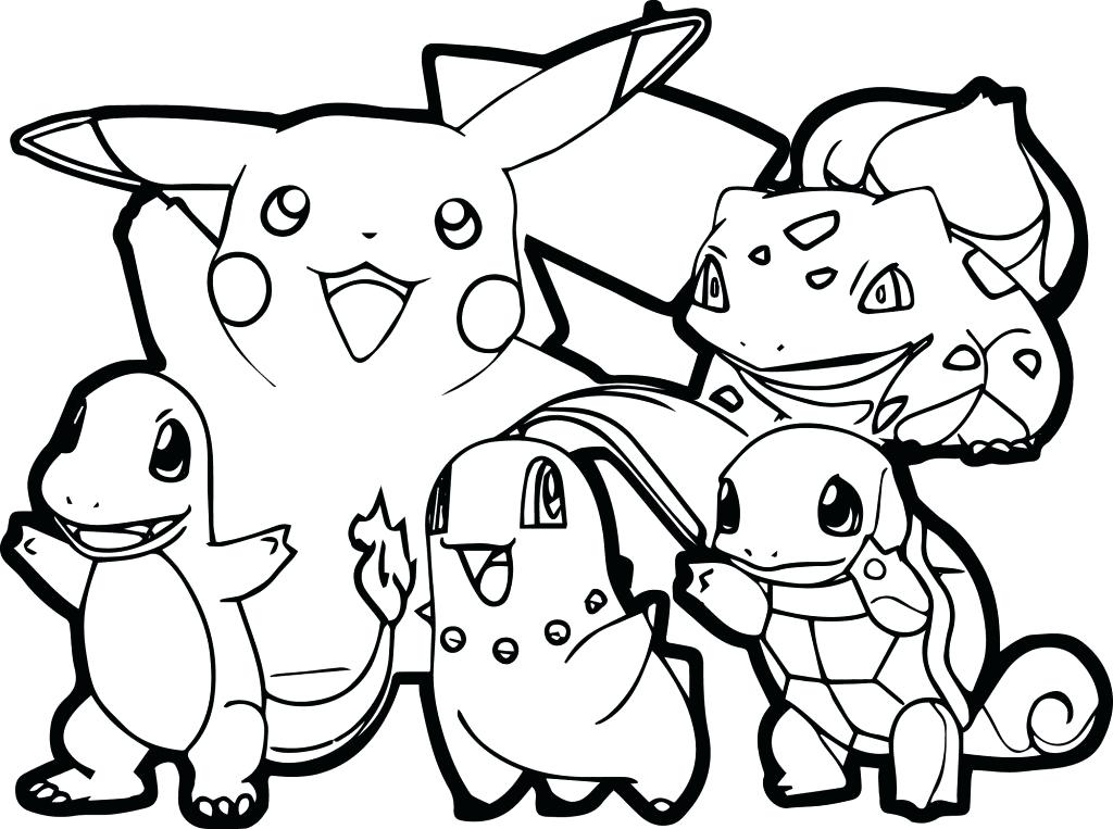 1024x763 Draw All Coloring Pages On Online To Download Cartoons Pokemon