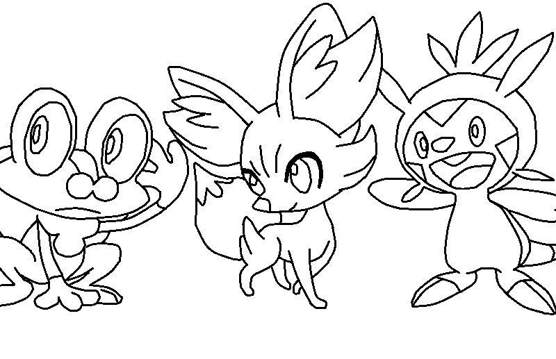 800x517 Surprising Pokemon Coloring Pages Froakie