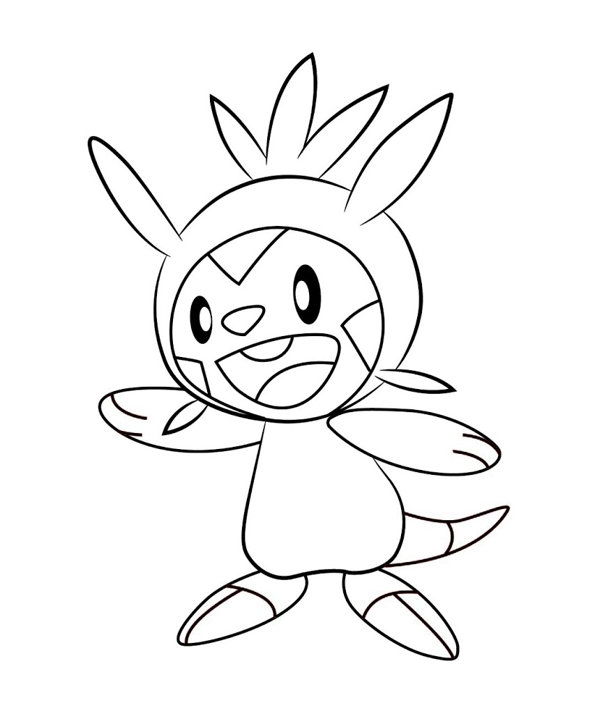 853x1024 Best Hd Pokemon X And Y Coloring Pages Frogadier Design
