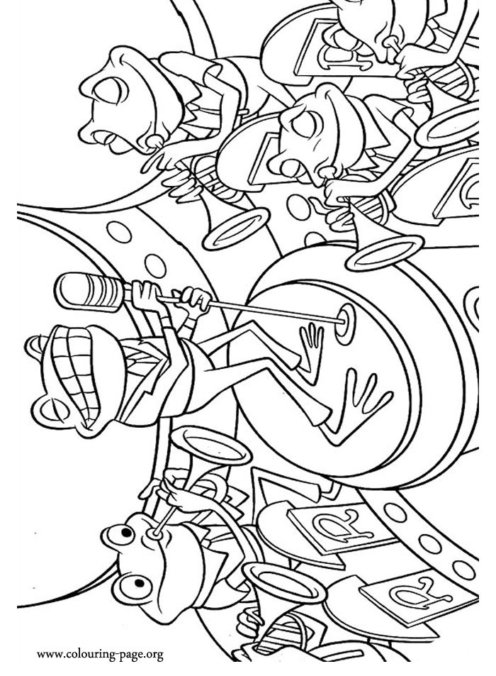 Frog Adult Coloring Pages