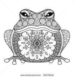 236x246 Frog Mandala To Color Coloring Pages For Adults
