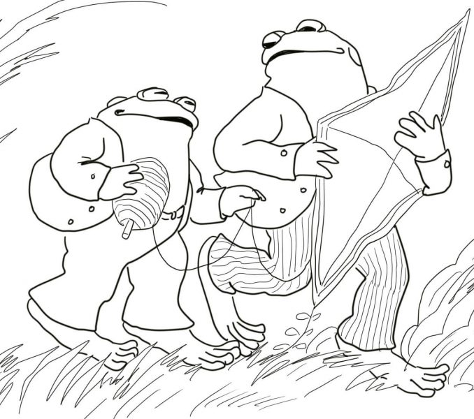 678x600 Frog And Toad Coloring Pages Coloring Page Frog And Toad Coloring