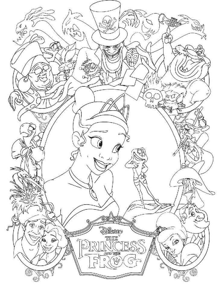736x946 Top Princess The Frog New Coloring Pages
