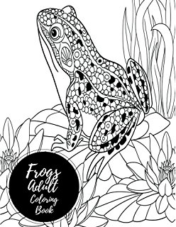 248x320 Frog Coloring Book For Adults Hand Drawn, Doodle