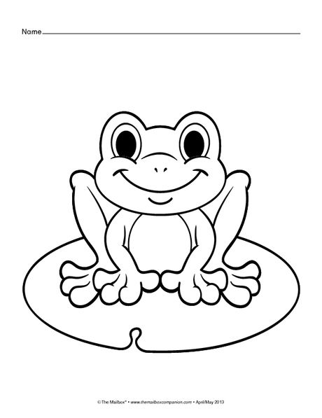 460x597 Coloring Pages Frog, Butterfly, And Flower With Ladybug Spring