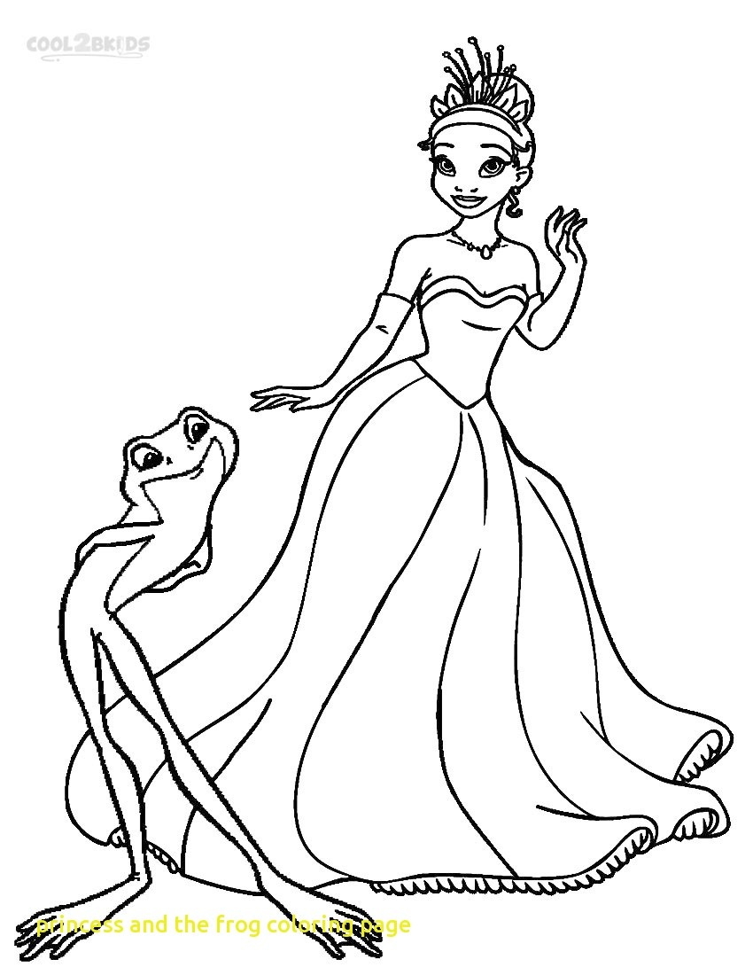 850x1100 Princess And The Frog Coloring Pages