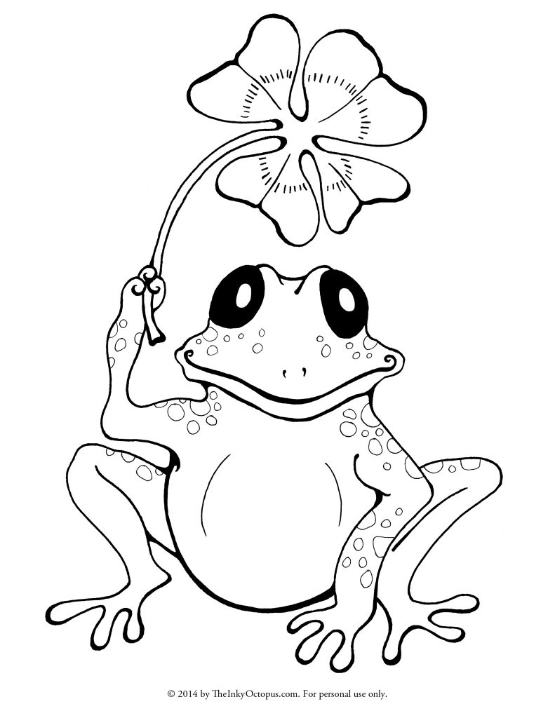 791x1024 Destiny Frog Coloring Pages Printable For Kids Page