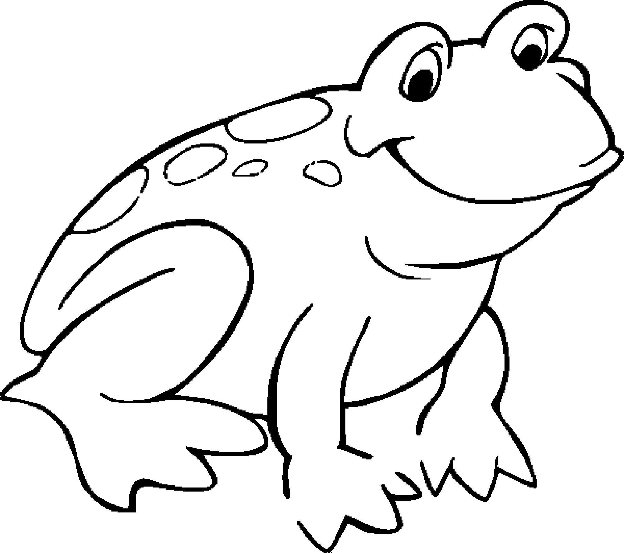 2000x1773 Unparalleled Frog Coloring Pages For Preschool