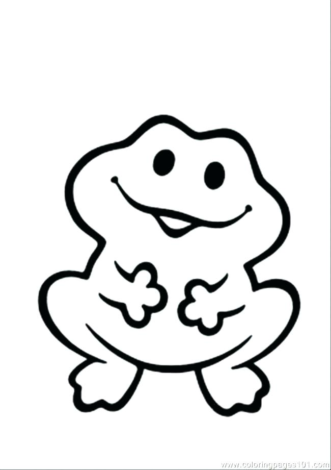 650x921 Coloring Page Of A Frog Funny Printable Coloring Pages Frogs
