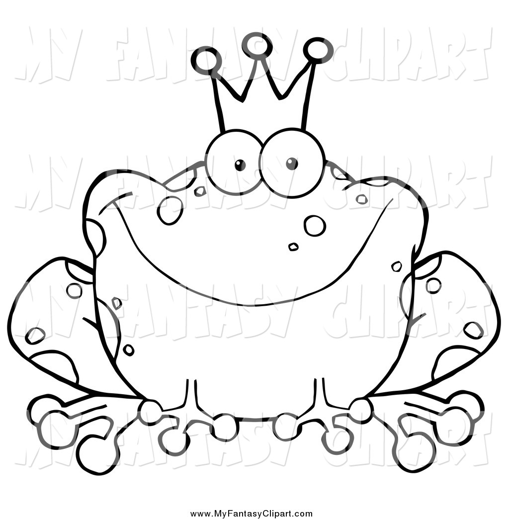 1024x1044 Cliprt Of Blacknd White Fairy Tale Frog Prince Wearing