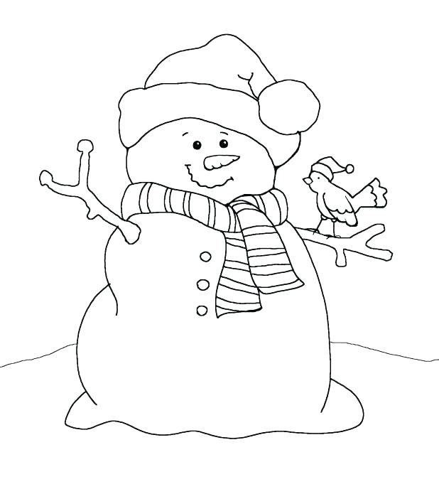 618x688 Frosty The Snowman Coloring Pages Frosty Snowman Coloring Page