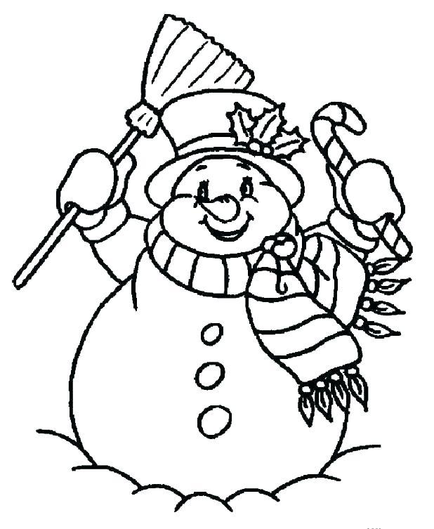 618x753 Snowman Color Pages Snowman Color Page Snowman Color Page Snow Man