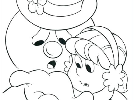 440x330 Snowman Coloring Pages Free Snowman Coloring Pages Free Snowman