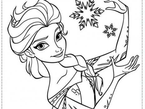 465x349 Frozen Coloring Just Coloring