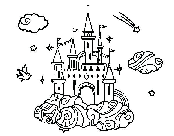 Frozen Castle Coloring Page at GetDrawings | Free download