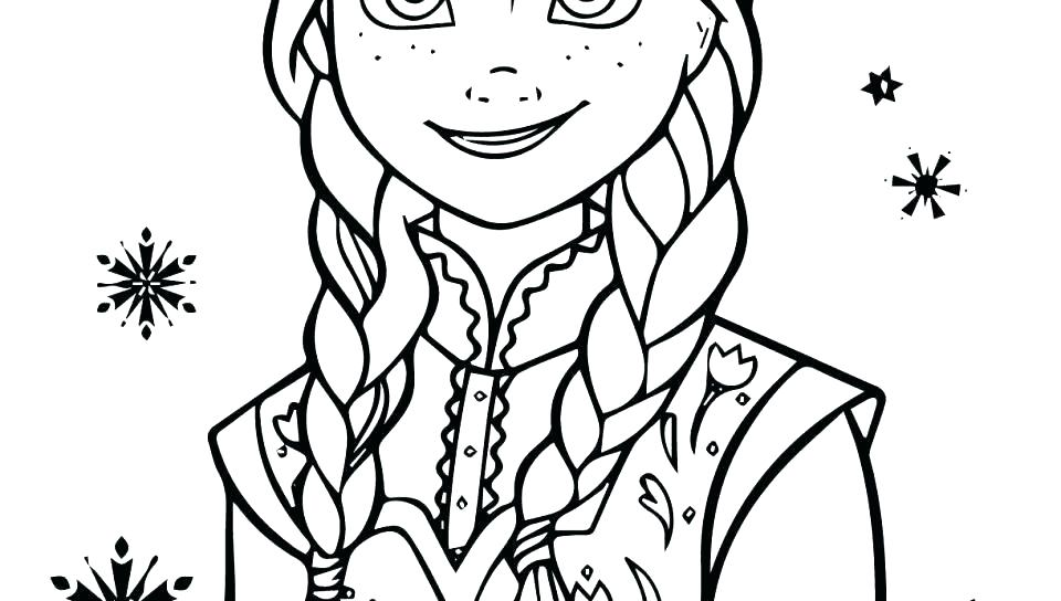 960x544 Free Printable Frozen Characters Coloring Pages Fresh