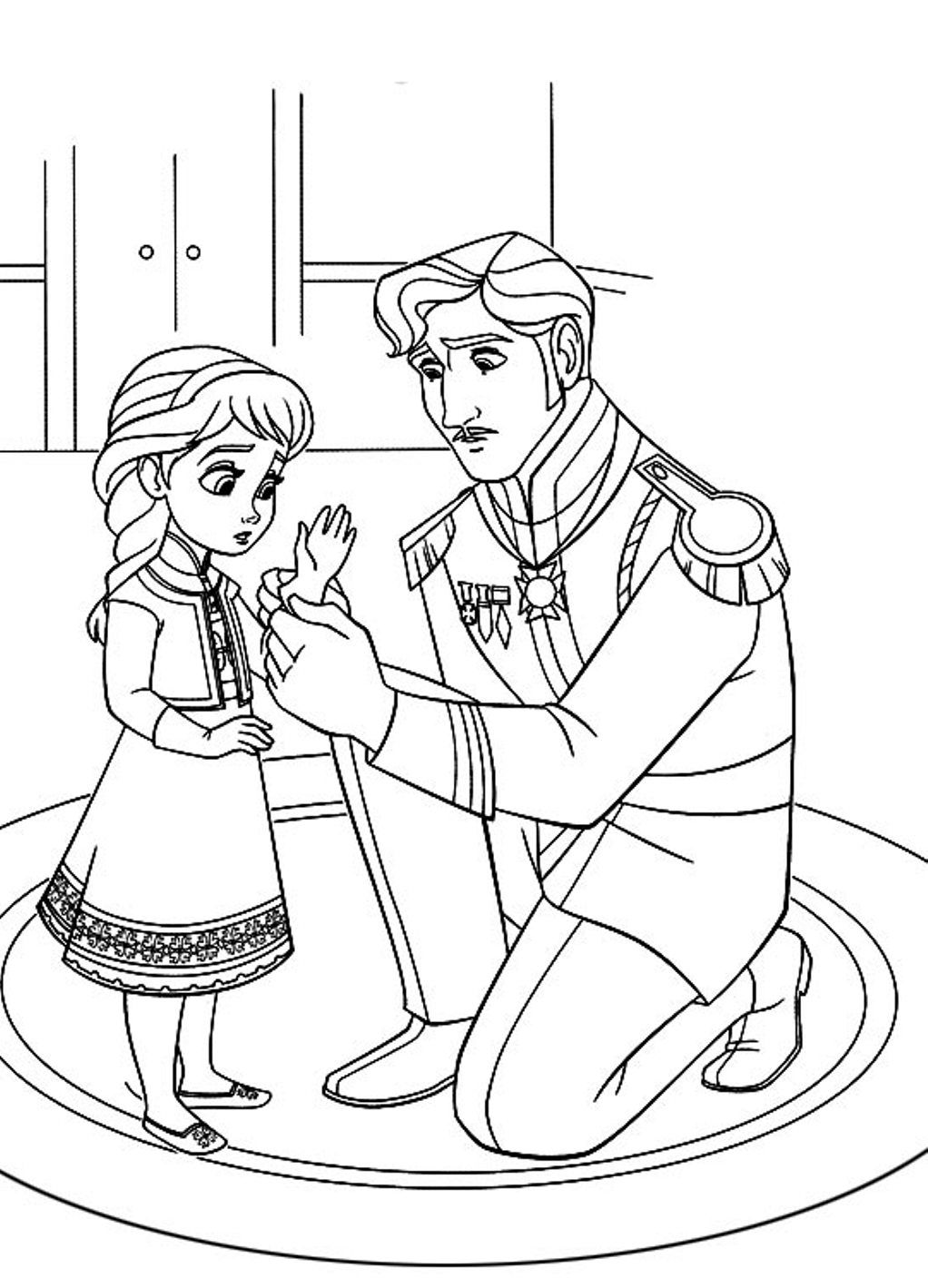 Frozen Coloring Pages At Getdrawings Com Free For Personal Use