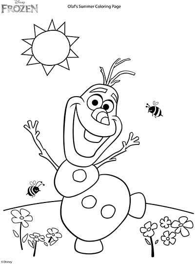 400x541 Frozen Coloring Pages