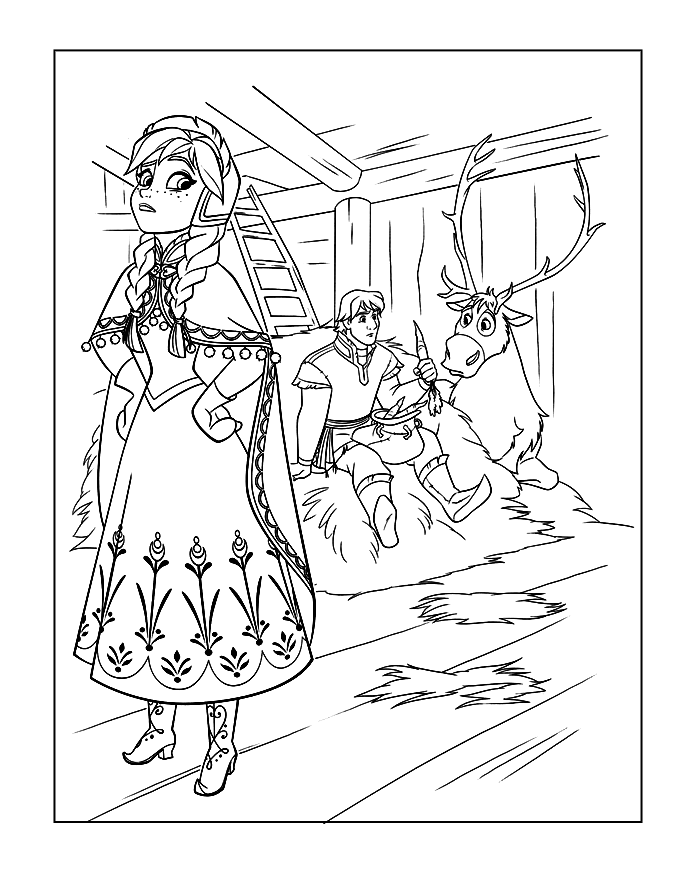 700x883 Frozen Coloring Pages! Coloring Rocks! Free Frozen Coloring Pages