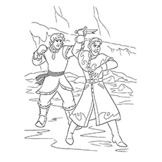 230x230 Beautiful Frozen Coloring Pages For Your Little Princess