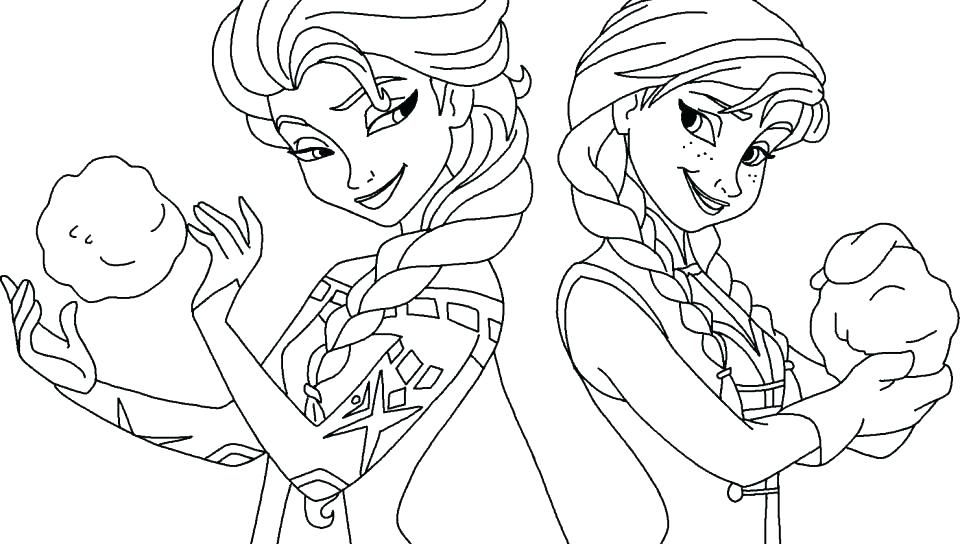 Frozen Coloring Pages Elsa Face At Getdrawings Free Download