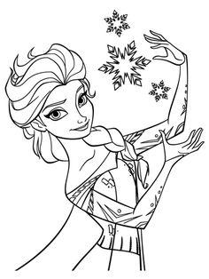 236x314 Elsa Coloring Pages Castle Elsa And Her Ice Castle Frozen