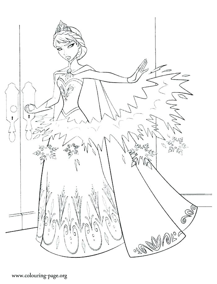700x918 Elsas Ice Castle Coloring Pages In Her Ice Castle Coloring Pages