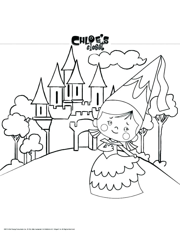 728x941 Frozen Coloring Pages Elsa Ice Castle Great Castles Games Fuhrer
