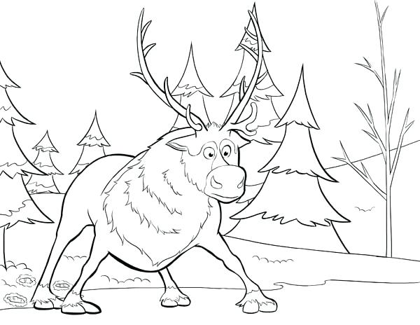 600x464 Frozen Coloring Pages For Toddlers Frozen Coloring Pages Frozen