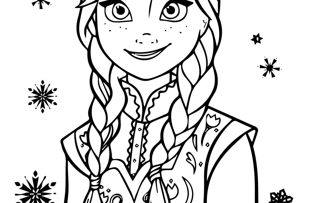 1221x800 Elsa And Anna Coloring Pages At Book Disney Frozen Cartoons