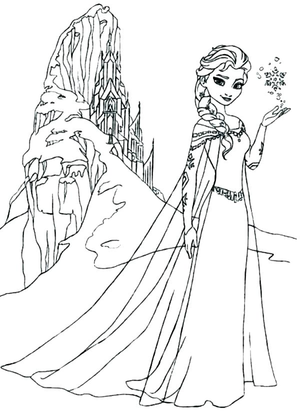600x828 Elsa And Anna Coloring Pages Icontent