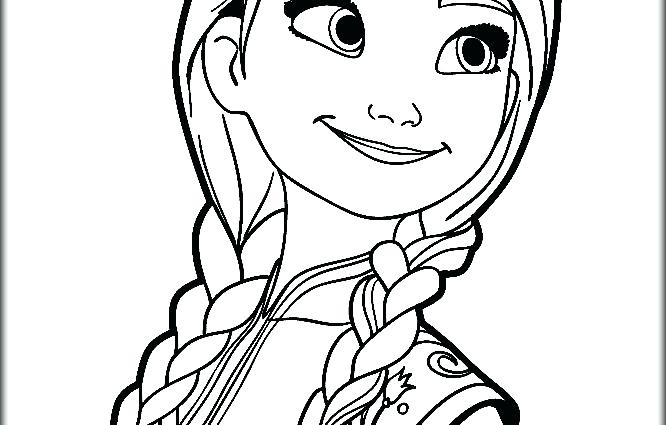 666x425 Frozen Elsa And Anna Coloring Pages