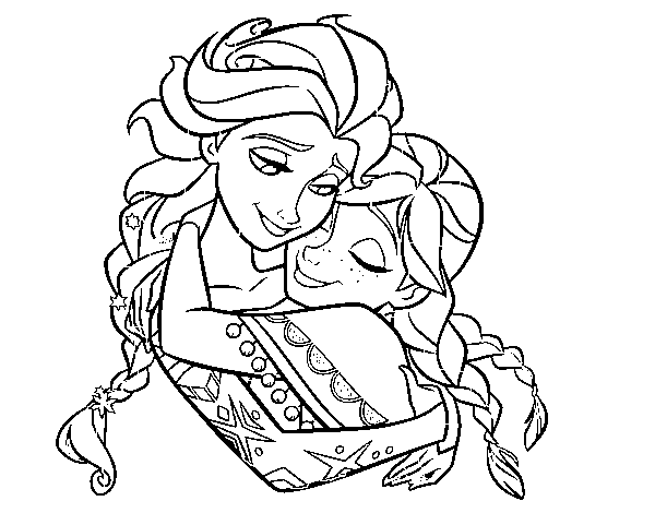 coloring pages of frozen fever movie | Frozen Fever Coloring Pages at GetDrawings.com | Free for ...