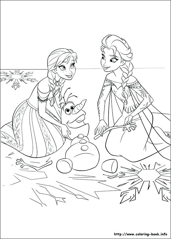 567x794 Frozen Coloring Pages Coloring Frozen Coloring Pages In Top Frozen