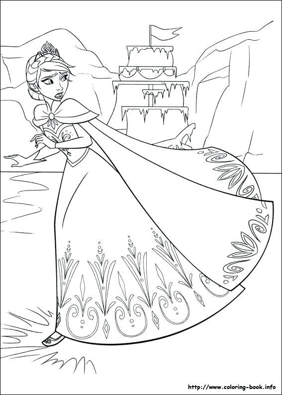 567x794 Frozen Coloring Pages On Coloring Frozen Frozen Fever Coloring