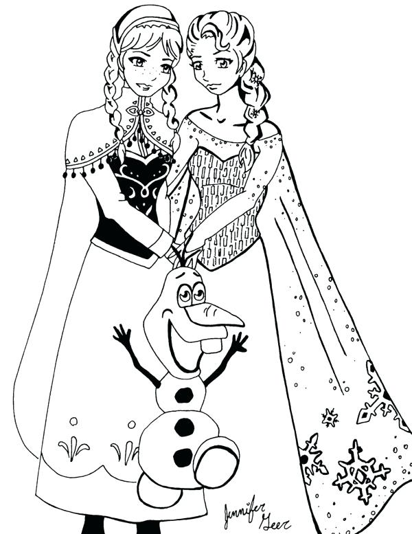 Frozen Fever Elsa Coloring Pages at GetDrawings   Free ...