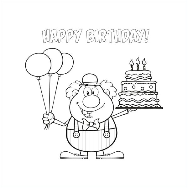 600x600 Happy Birthday Coloring Page Frozen Happy Birthday Free Coloring