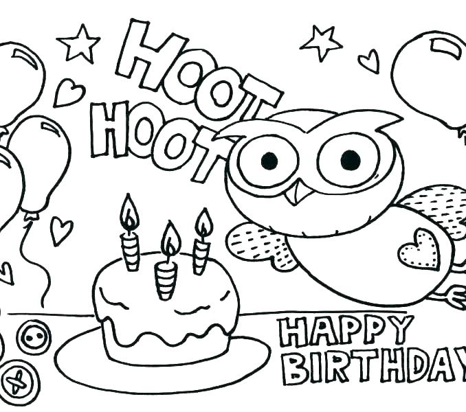 678x600 Happy Birthday Coloring Sheet Disney Frozen Happy Birthday