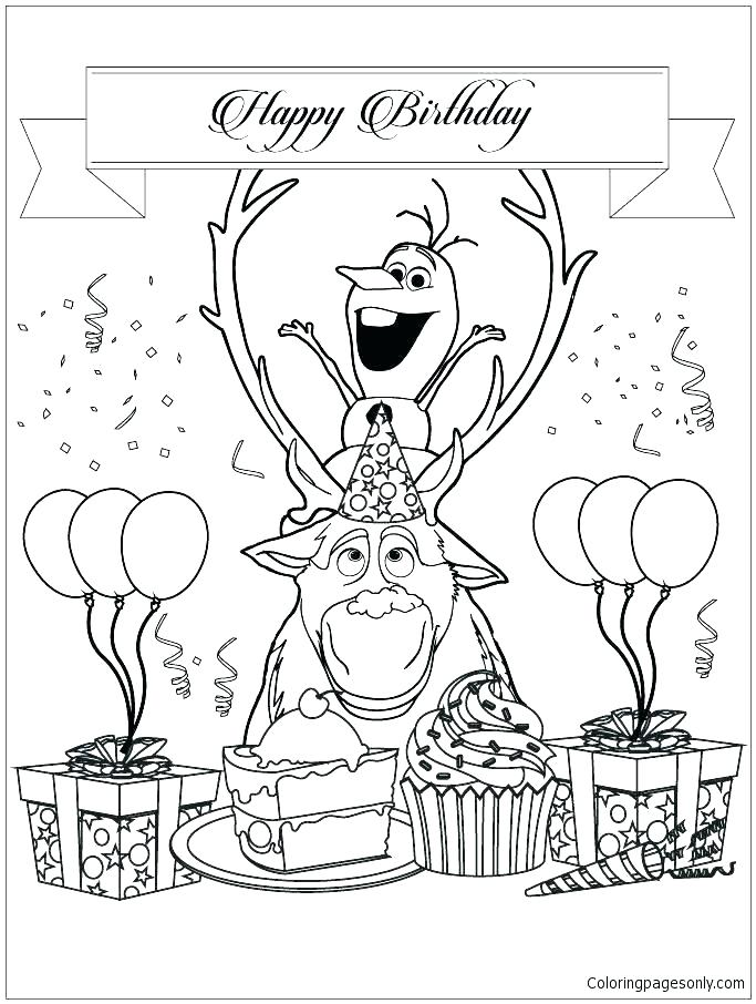 683x906 Happy Birthday Mom Coloring Pages Happy Birthday Mom Colouring