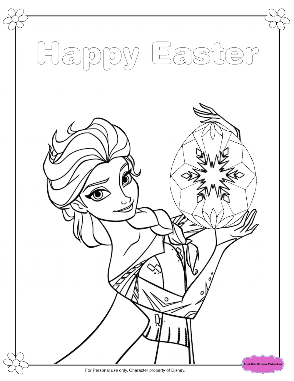 1000x1294 Printable Disney Princess Coloring Pages Frozen Elsa Free