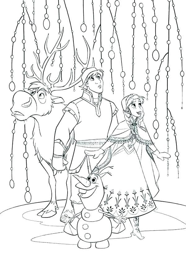 600x840 Frozen Coloring Pages Disney Frozen Coloring Pages Frozen